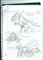 Cast of Rise of Tyranno (really old) by Dinoboy134