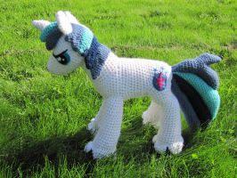 Shining Armor by NerdyKnitterDesigns