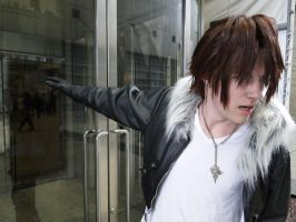 Squall's Angry Face by Strifehart