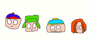 South Park Kids by Simpsonsfanatic33