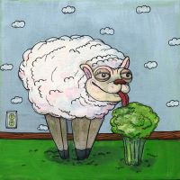 Sheep Broccoli by MBLASTER