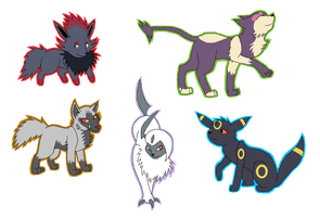 i liek my dark types by Spottedfire23
