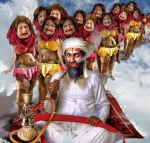 Bin Laden's Harem in Heaven by preemiememe