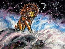 Rise of The Moon Lion by The-RBT-Designer