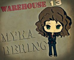 warehouse 13 myka by azmaria29
