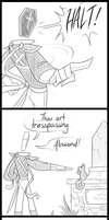 Sassket Case Comic by MindofGemini