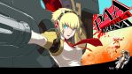 Persona 4 Arena - Aigis 1080p Wallpaper by ZuperKim