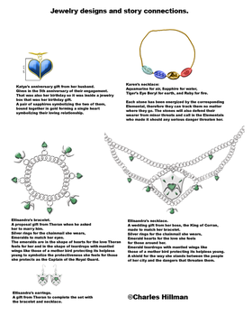 My jewelry designs by C-Hillman