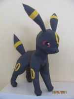 Umbreon Papercraft by x0xChelseax0x