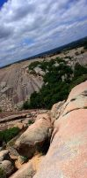 Enchanted Rock Panorama 2 by marioncobretti