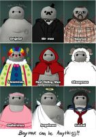 Baymax_can_be_anything! by souldaki