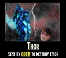 Thor Destroys Emos by soccerdemon