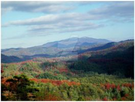 The Great Smoky Mountains Eden - 2009 by CrystalMarineGallery