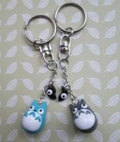 Totori Friendship Keychains by SneakyCinnamon