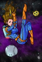 Space Girl by Abrahans