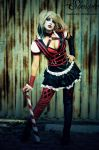 Harley Quinn - Arkham Knight by Shermie-Cosplay