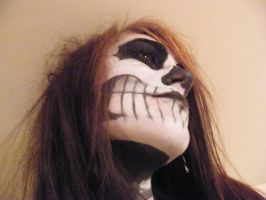 Skeleton Makeup 2 by Randomshadowmusic