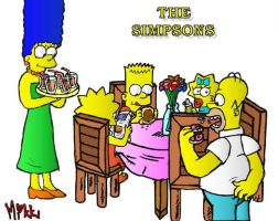 Simpsons: The Family by MagicMikki