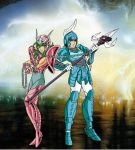 Saint seiya samurai trooper 03 by FaGian