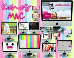 Mac Icons by alenet21tutos