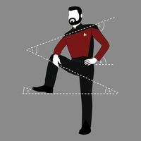 Riker Lean by UnrelatedIndividual