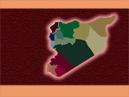 Syria Map by Halab