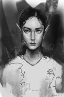 Elf sketch by sweethaven