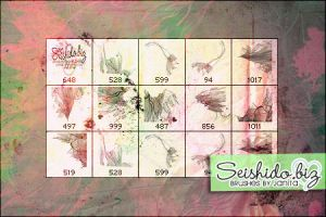 FREE Grungy Fantasy Brushes by seishido