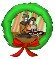 Merry Christmas: for Ethan, from Hanna by Drakithu