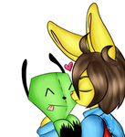 Alex n' Gir by Lali-the-Bunny
