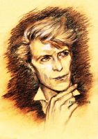 David Bowie by AnnaMorozova