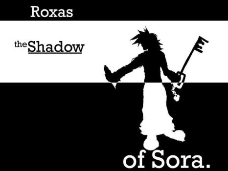 Roxas: the shadow of Sora by slither277