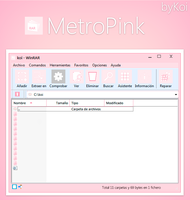 MetroPink rar theme by koinomegalovers