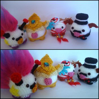 Themed Poros by ForgottenMermaid