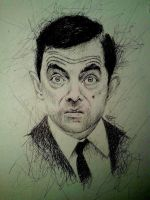 Mr Bean by IamLesFleurs