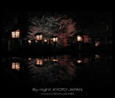 Kyoto by night -1- by Lou-NihonWa