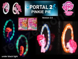 Portal Pinkie Pie 2.0 - FOR SALE by Stitchfan