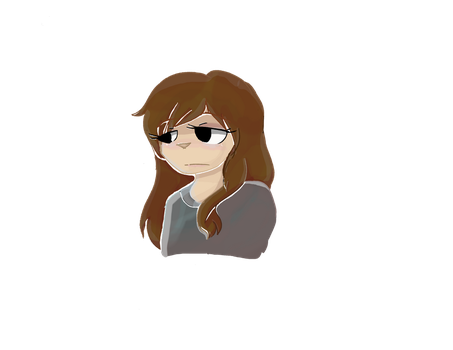 Some girl named Ame From My Animation by Xx-SpiritFox-xX