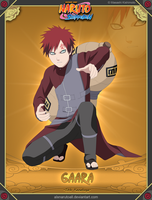 Gaara -5th Kazekage- by alxnarutoall
