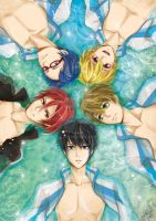 Free! - Art book illustration by tifl429