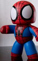 Mighty Muggs Spider Man by juliekoesmarno