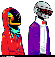 Daft Talk Sprites by Koolaid-Girl