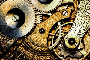 Cogs and Gears by JustinSymbiosis