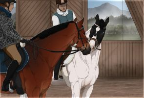 .:|Riding lesson with armin|:. STORY ADDED by BRls-love-is-MY-Live