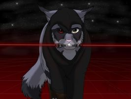 Wolfpatch Sith Lord by Ebonycloud-Graphics