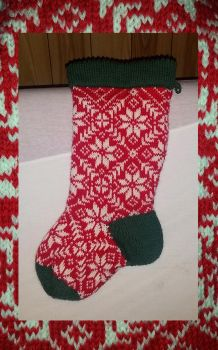 Christmas Stocking by KnitLizzy