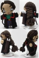 Arjeloops Katniss Crochet Doll by Arjeloops