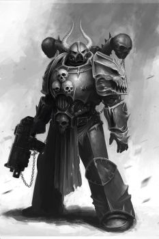 Chaos Marine by CELENG