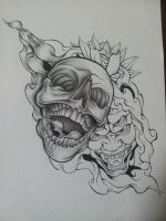 WiP Skull Demon Design 2 by MagnaSicParvis