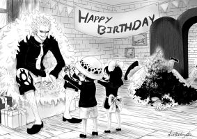 Happy Birthday, Doffy!! by DarthShizuka